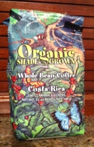 I love having monkeys and butterflies on my coffee package.